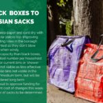 Hessian sacks and text
