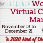 Virtual Christmas Market banner with gifts